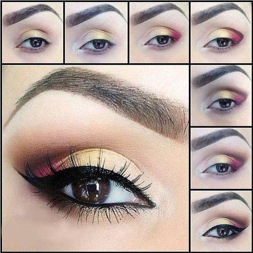 Metallic-Eye-Makeup-Tutorial-Step-by-Step-2016-15