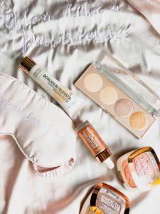 let's glow imparfaites glow kit l'oreal peach embellishing blush nudista liquid highligher