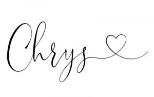 Signature blog Imparfaites Chrys