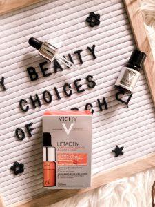 Cure antioxydante et antifatigue Liftactiv de Vichy
