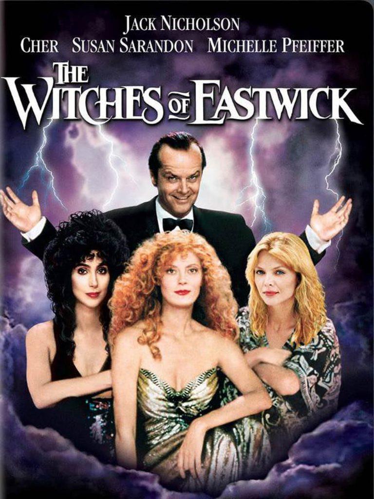 Les sorcières d'Eastwick, un film à regarder durant le confinement