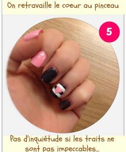 Tuto nail art : Love me Tender