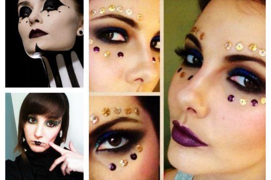 Carnaval, maquillage pour les grandes