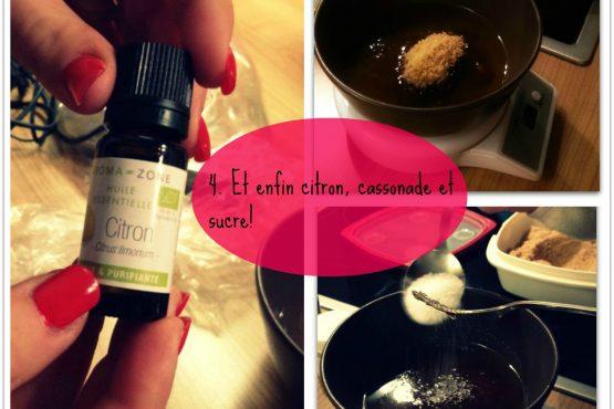 Scrub corporel sucre et citron : une peau plus douce!