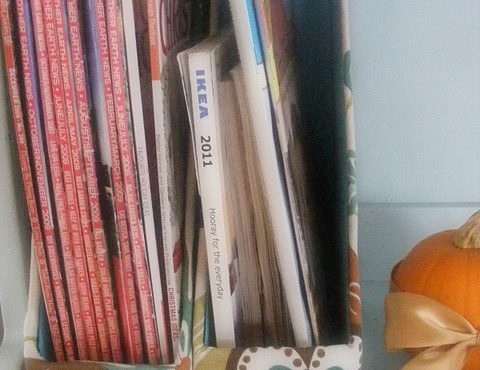 The Bree Van de Kamp Challenge : semaine 12 : on organise les journaux, les catalogues et les magazines.