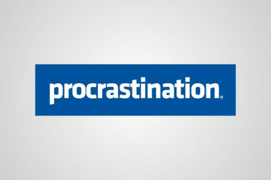 procrastination, mon amour