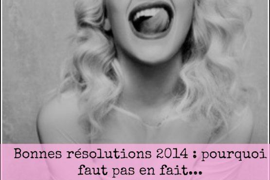 Bonnes résolutions, hum