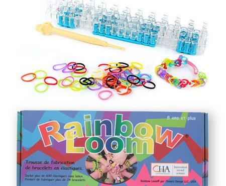 Rainbow Loom : des idées avant de péter les plombs