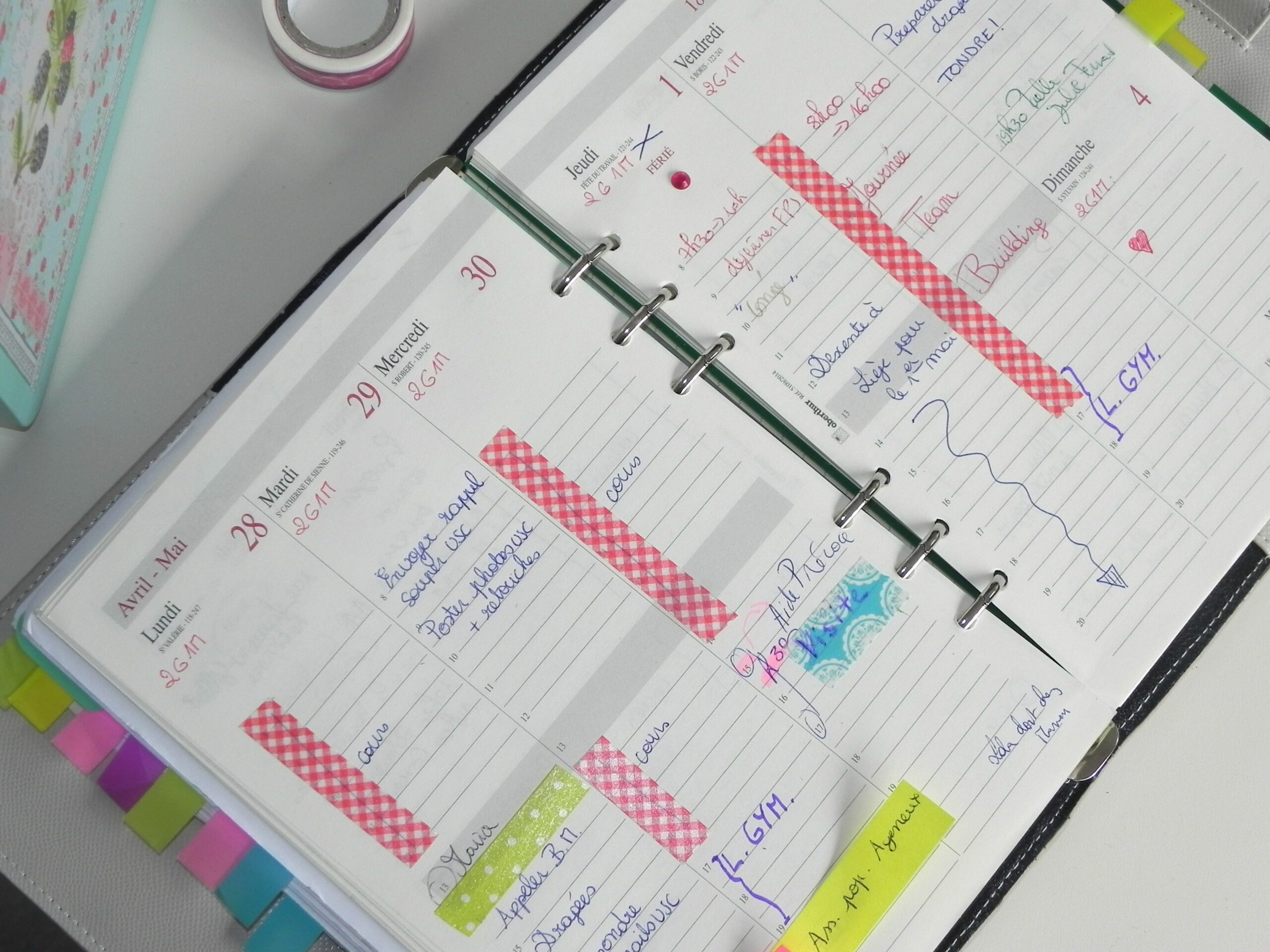 mon agenda