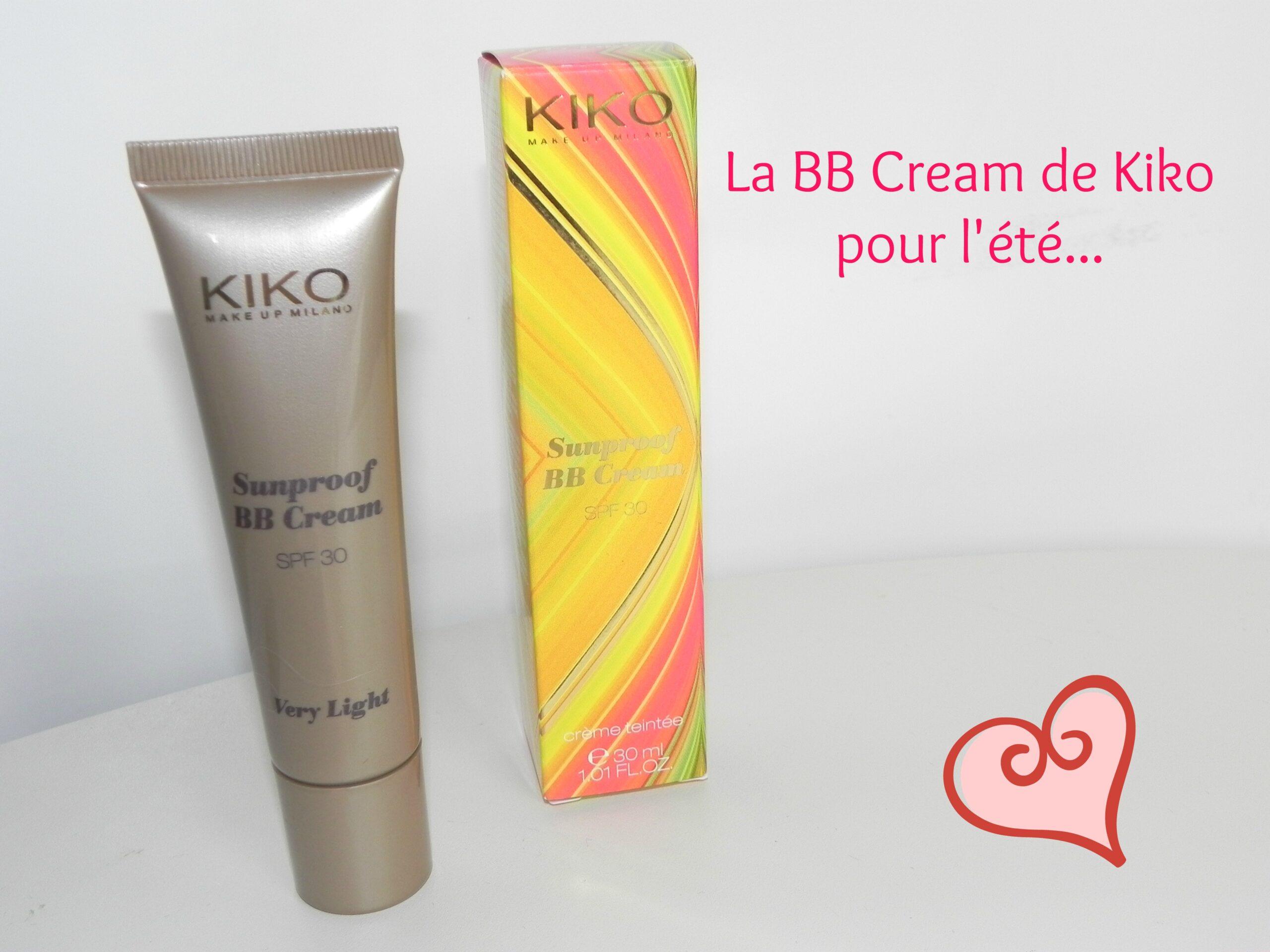 Kiko sort une BB cream Sunproof pour l'été