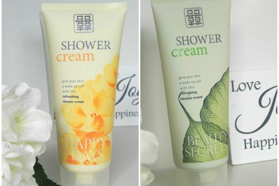 Action shower cream